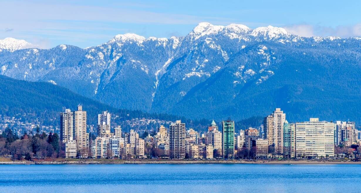 West Canada - CanadaVlucht Vancouver - Amsterdam